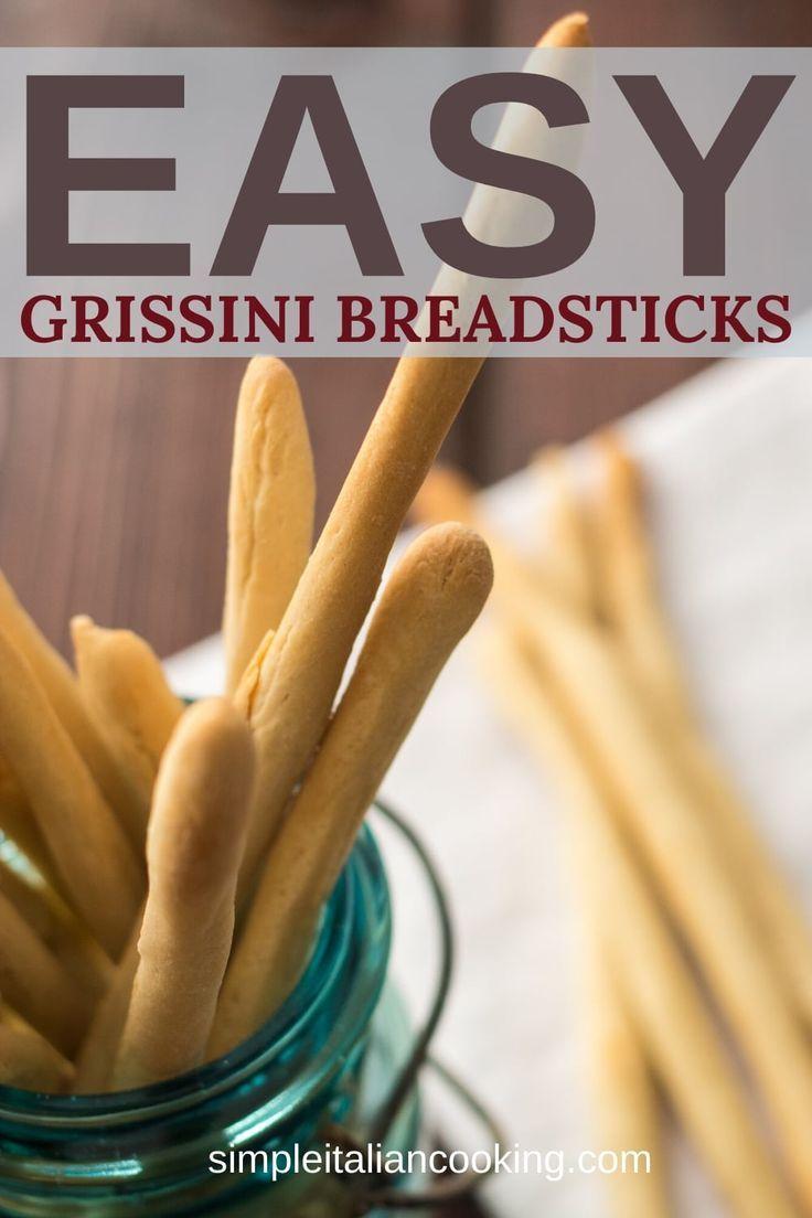 Photo of Crispy Grissini Italian breadsticks recipe is easy to make