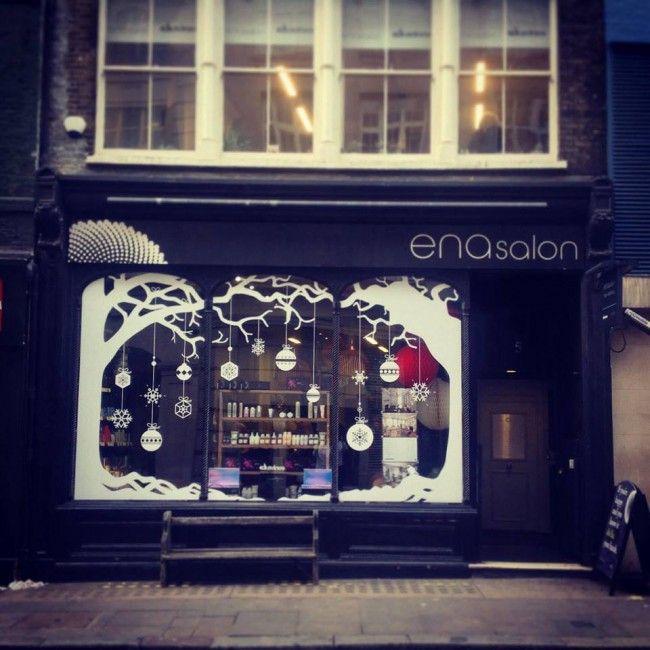 Salon Spy Ena X Davines Salon Window Display Hair Salon Decor