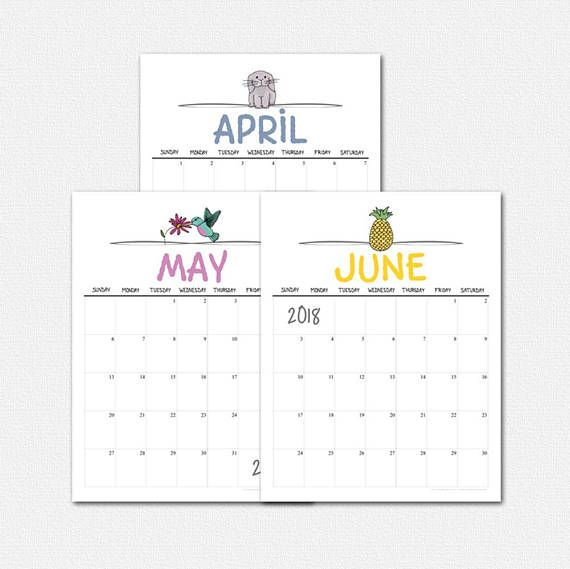 Make organizing your schedule fun with this Doodles II