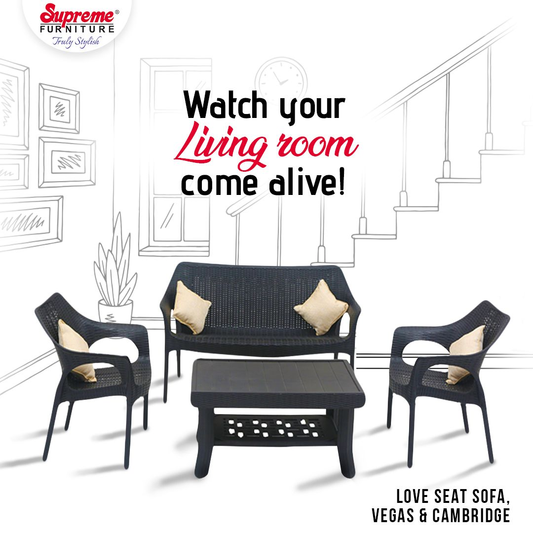 Refresh The Look Of Your Living Room With Our Love Seat Sofa Set Supreme Supremefurniture Trulystylish In 2020 Supreme Furniture Cafe Furniture Indoor Furniture