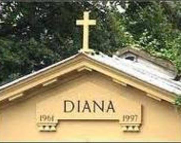 Princess Diana Burial Site Photos Prince William Kate
