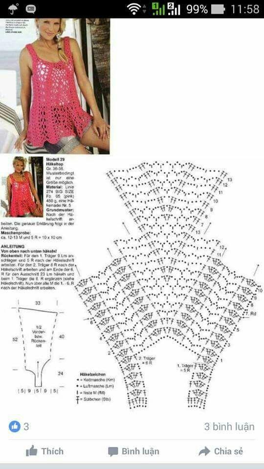 Pin de Nhung Pham en áo mõ | Pinterest | Tejido y Ganchillo