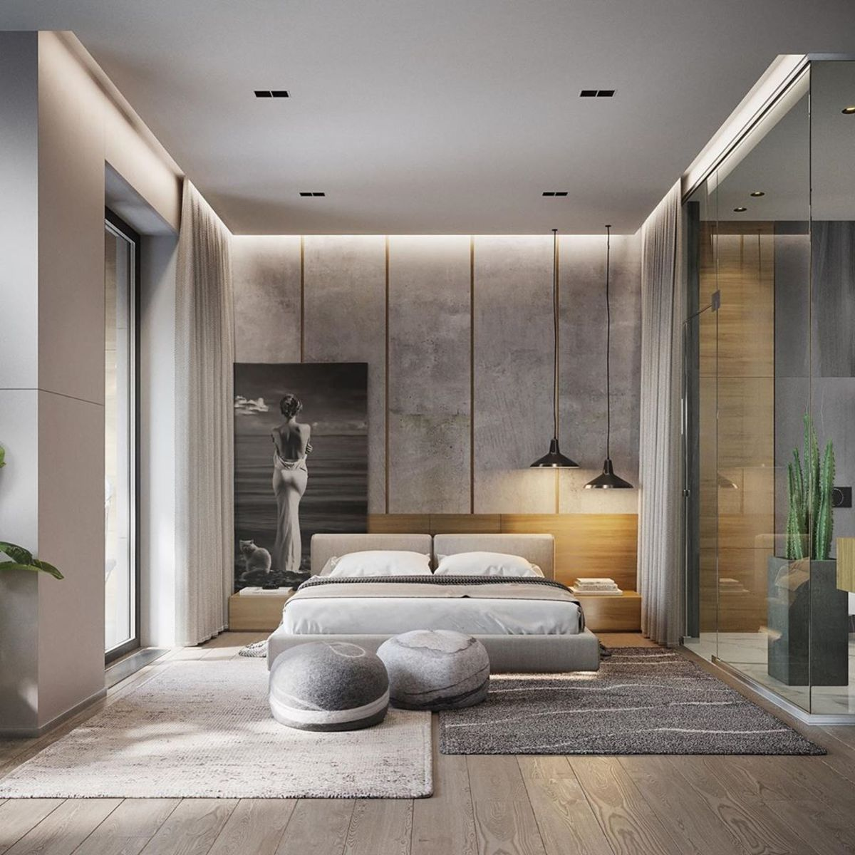 Minimal Interior Design Inspiration 201 Minimalism Interior Minimal Interior Design Luxurious Bedrooms