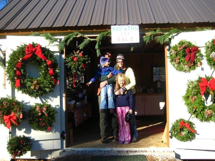 Windswept Tree Farm Tree Farms Christmas Wreaths Tree
