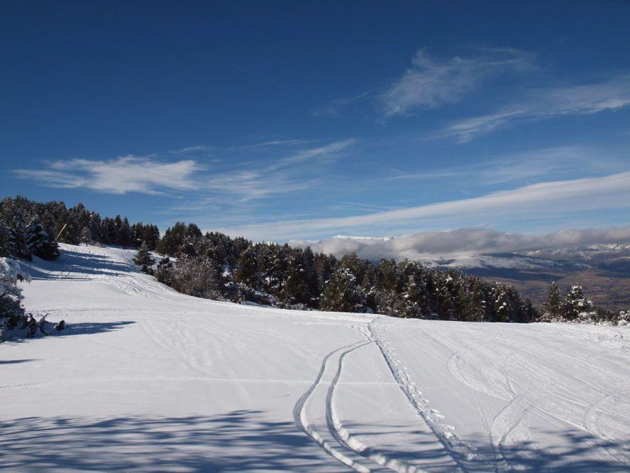 Nuevo Récord Estación Esquí Masella Esquí Estacionamiento