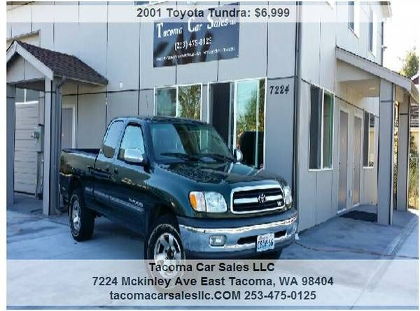 Image 1 With Images Toyota Tundra Sr5 Toyota Tundra Access Cab
