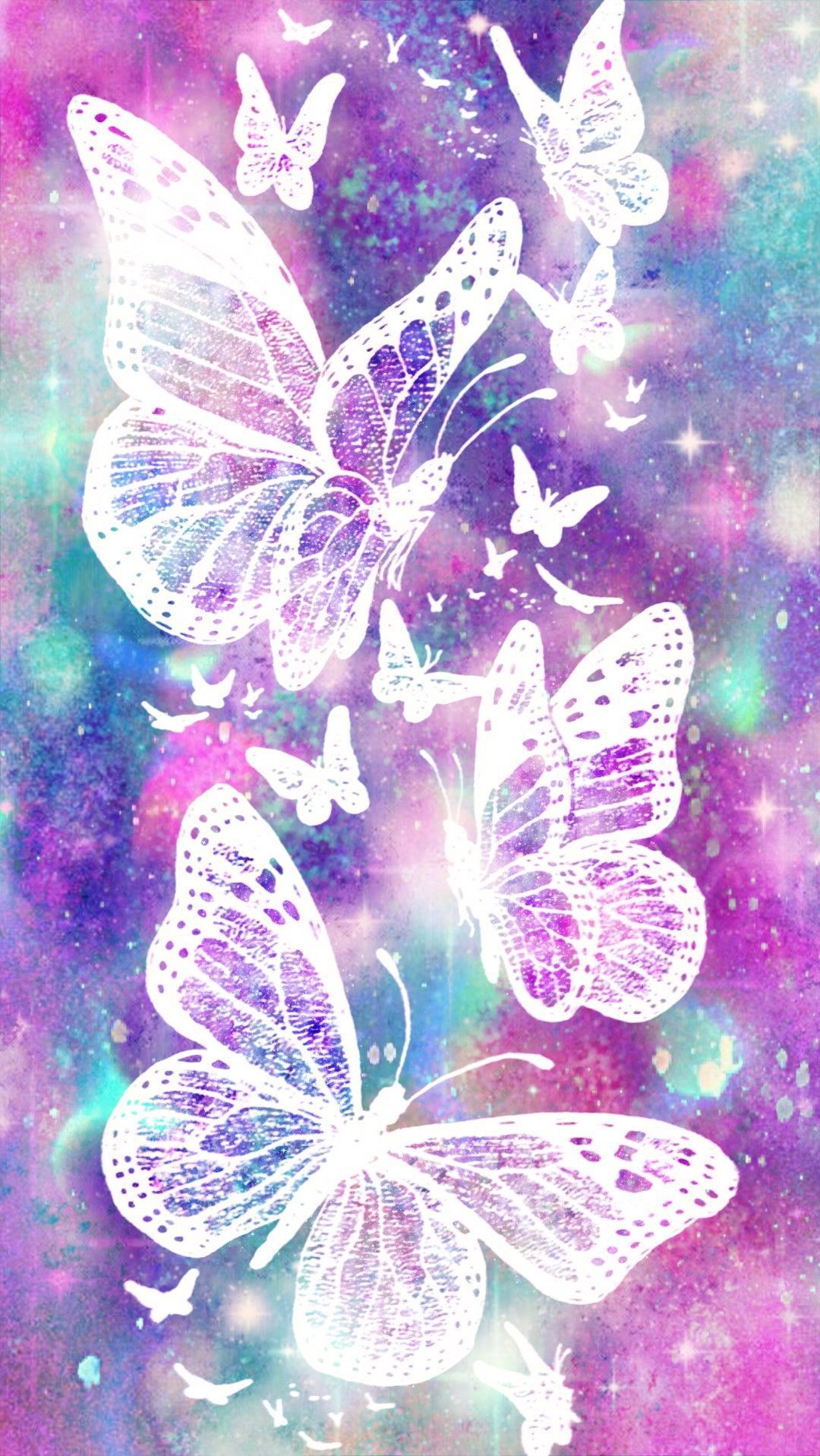 Glistening Butterflies Galaxy Made By Me Purple Sparkly Wallpapers Backgrou Purple Butterfly Wallpaper Butterfly Wallpaper Backgrounds Butterfly Wallpaper