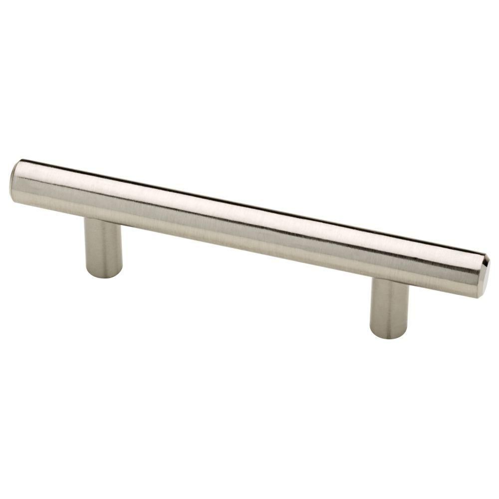 liberty 3 in 76mm center to center satin nickel bar drawer pull rh pinterest com