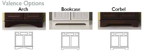 Kitchen Cabinets With No Toe Kicks Cabinet Base Valence Options Offered By Mid Continent Cabi Kitchen Cabinets Toe Kick Kitchen Accessorizing Kitchen Repairs