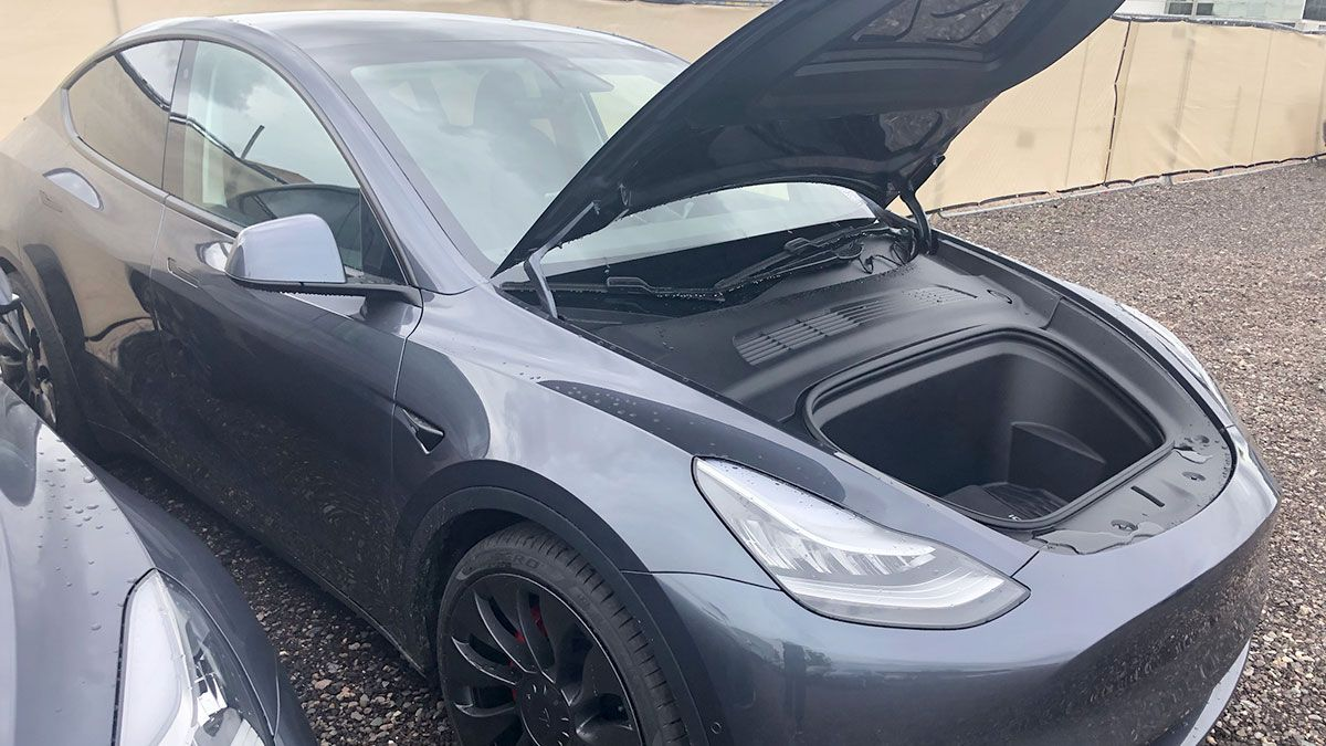 Tesla Model Y Photo Gallery Shows The Huge Trunk And Frunk Cargo
