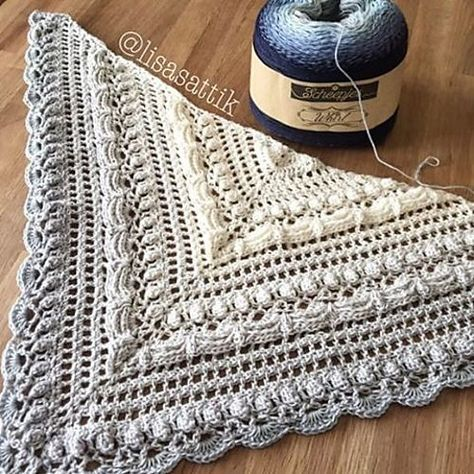 Free Pattern] Lost in Time Crochet Wrap #crochet #freepattern ...