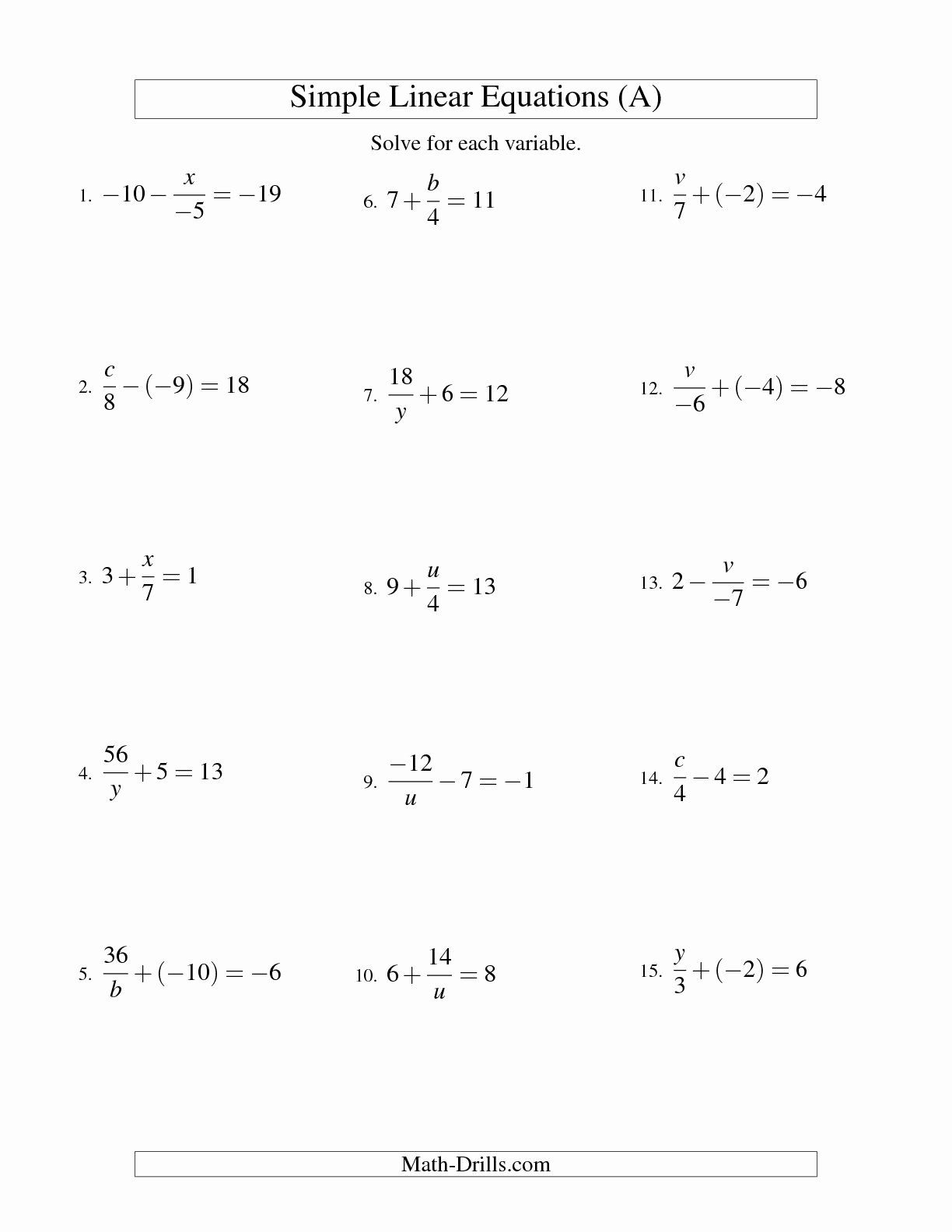 48 Factoring Linear Expressions Worksheet In With