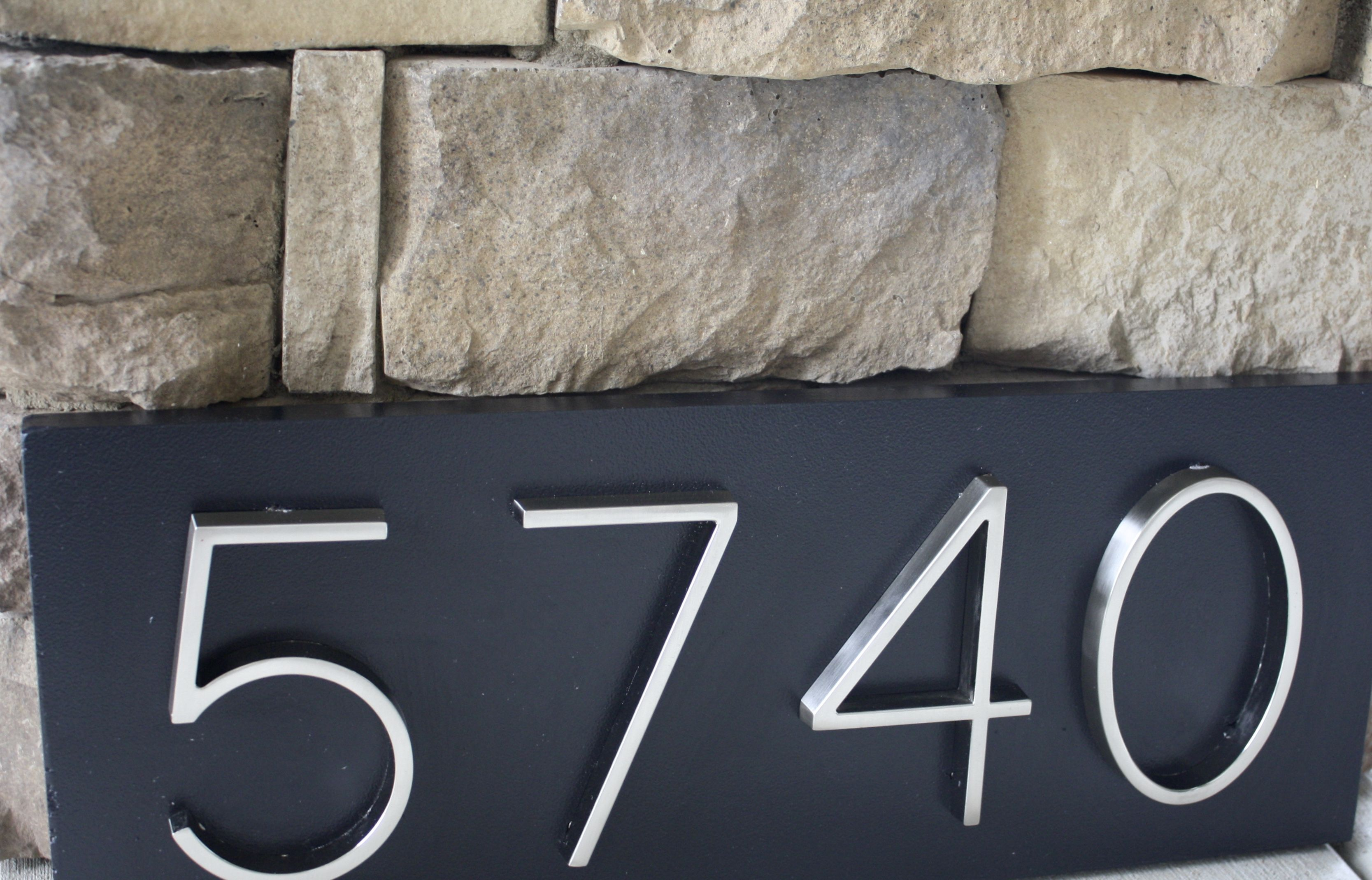 Pin On Painted Home Address Plaques