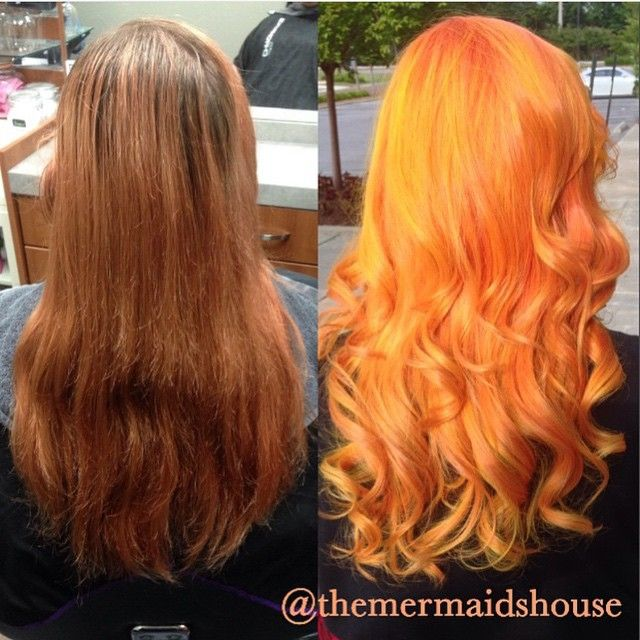 #shoutoutsunday fiery makeover by @themermaidshouse @hotonbeauty #hotonbeauty Hot Beauty Magazine #makeover #transformation #featurepage