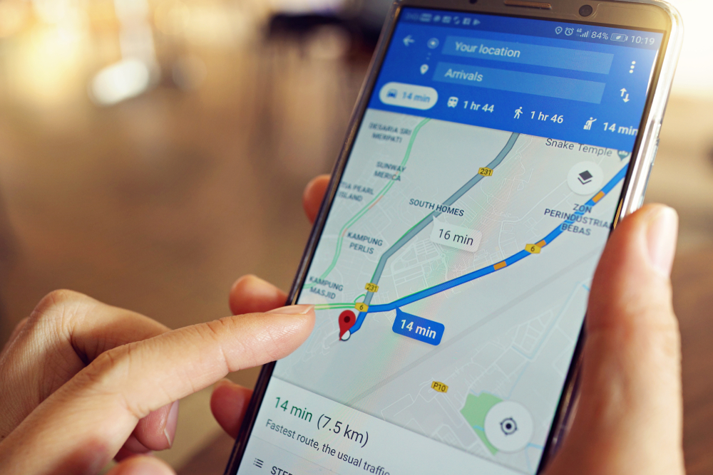 Google Maps Added Speedometer To Your Navigation Screen Map Google Maps Travel App
