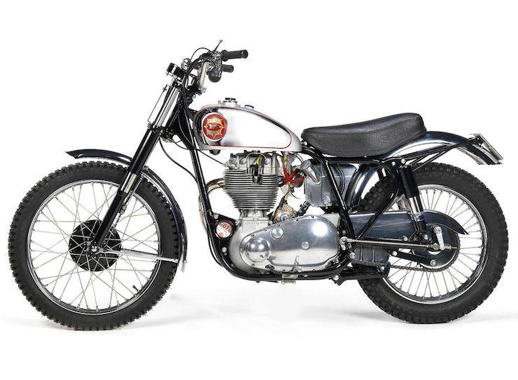 1961 Bsa Gold Star Scrambler Classic Motorcycles Scrambler Classic Bikes