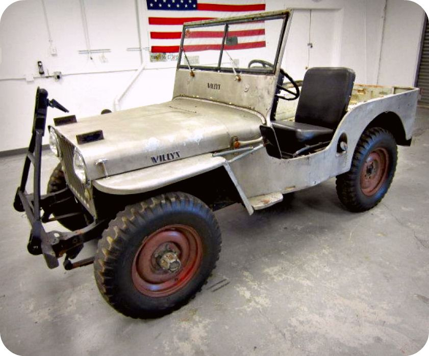 1948 Willys Overland Cj2a 4x4 Jeep On Govliquidation Bidding