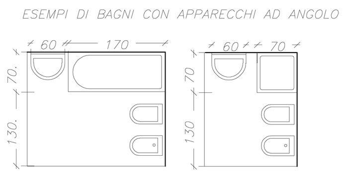Progetto piccolo bagno cerca con google bagno piccolo - Dimensioni water piccolo ...
