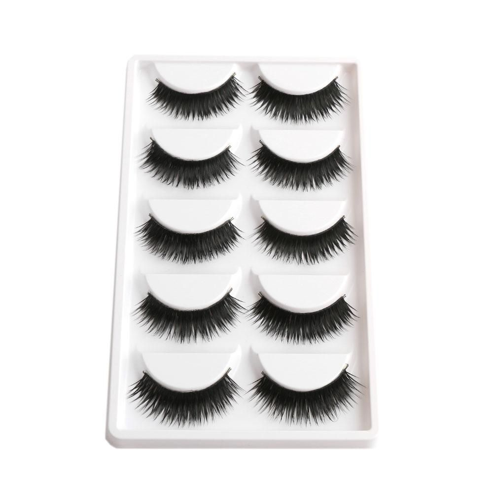 Leila Eyelashes 5 Pair Bulk Eyelash Pinterest Products