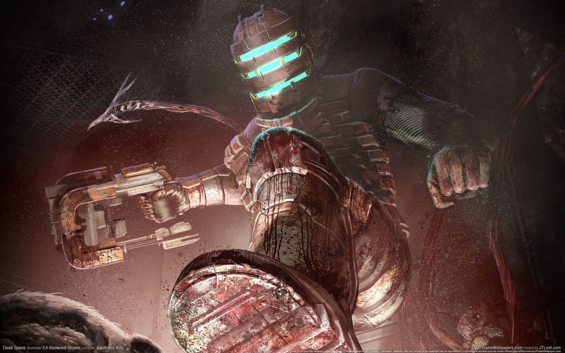 Deadspace Dead Space Video Game Logic Space Artwork