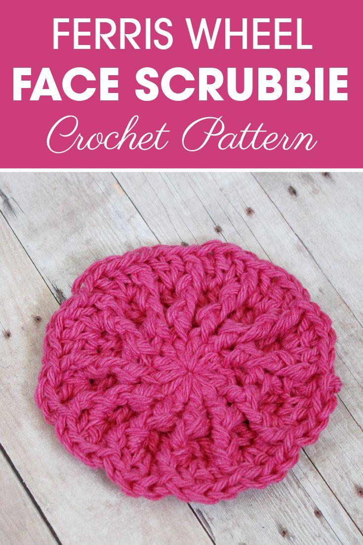 Bonito Patrón Scrubbie Espiral Crochet Embellecimiento - Manta de ...