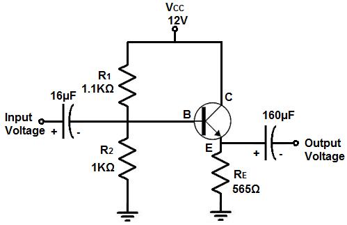 EmitterFollower Circuit is one of three basic single