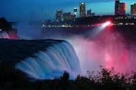 American Falls at night, Niagara