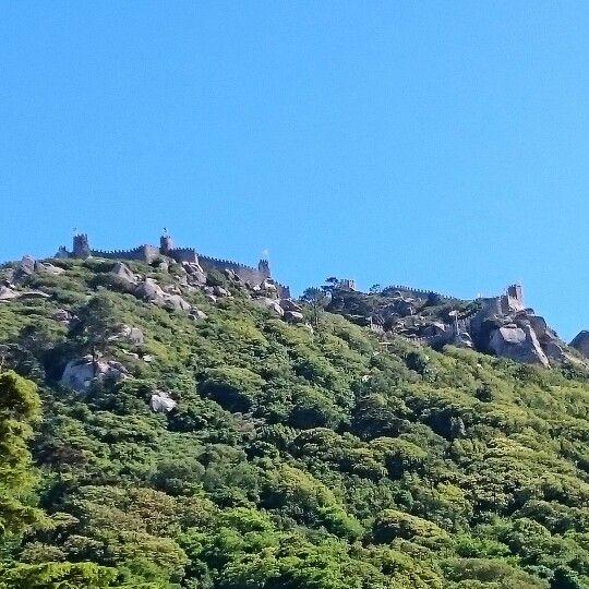 Sintra.  Castelo dos mouros. PORTUGAL.