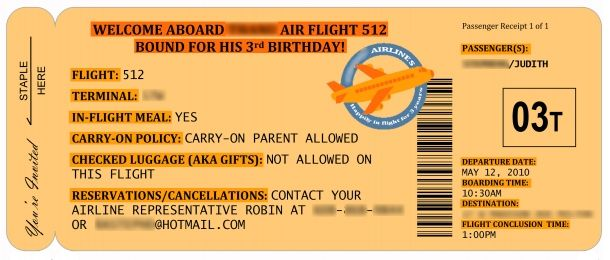 An Airplane Party For Tea At 3 Fun Wedding Invitations Invitation Template Invitations
