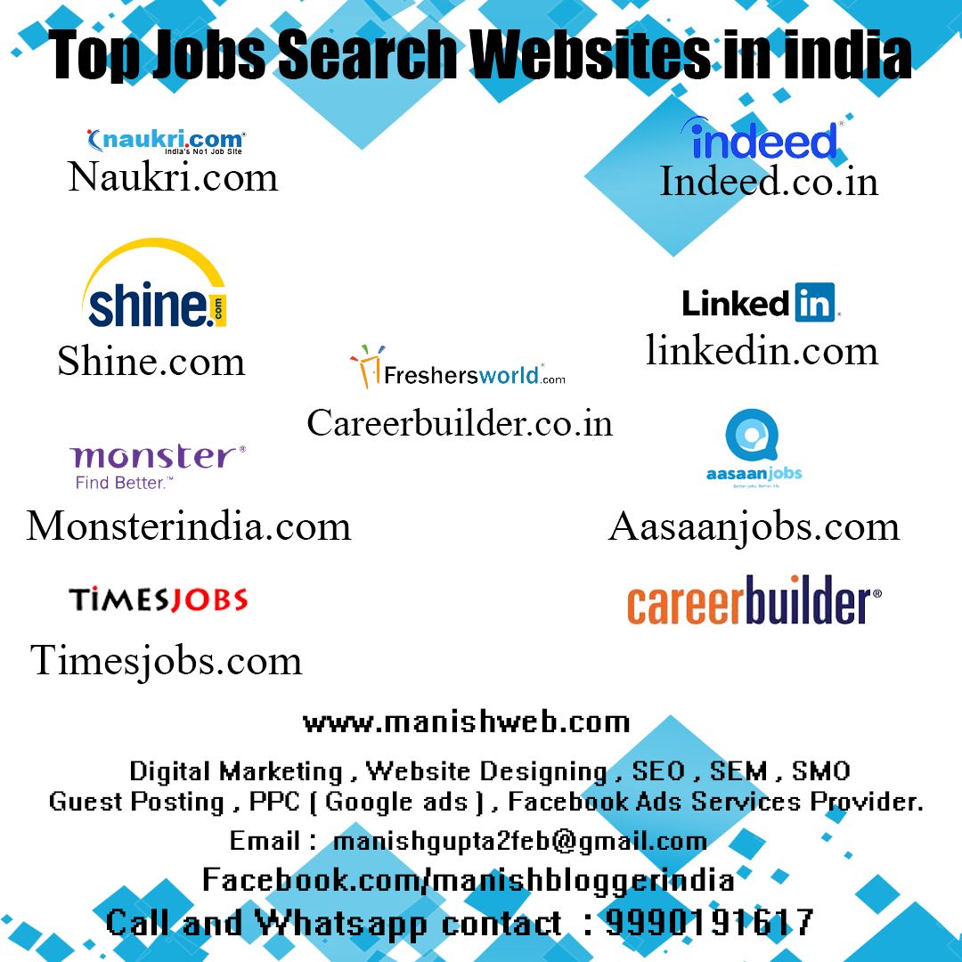 Jobs Search Websites in India in 2020 Job search