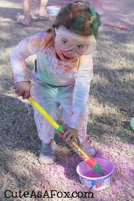 Throw Your Own Color Fight Color Fight Color Run Powder