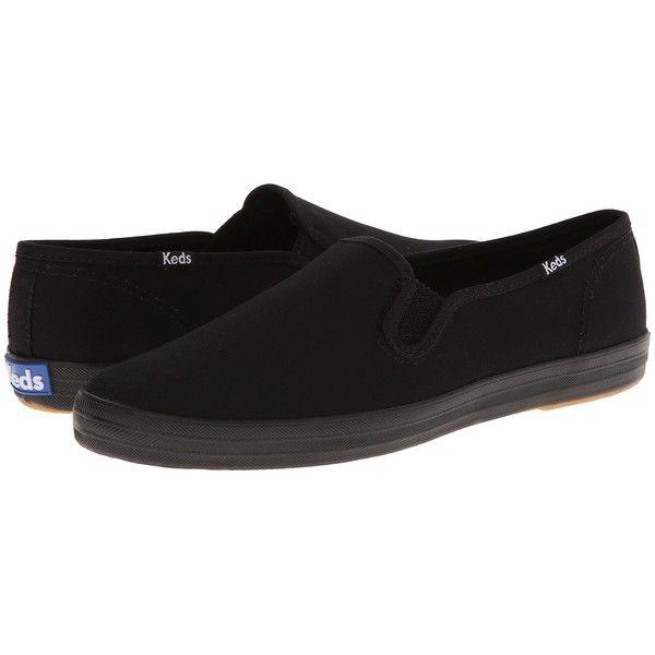 Keds Champion-Canvas Slip-On (Black