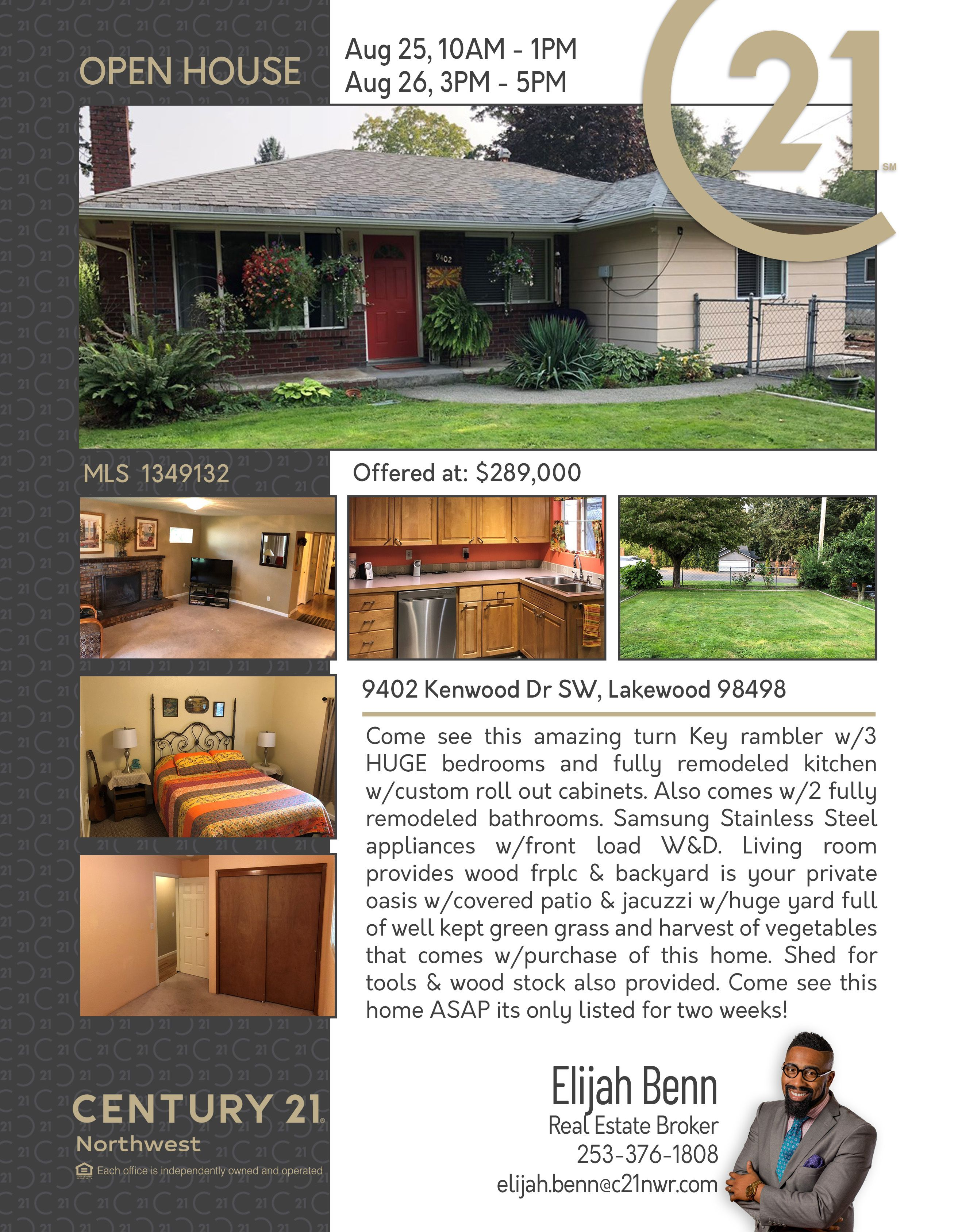 Openhouse come see this amazing turn key rambler w3 huge