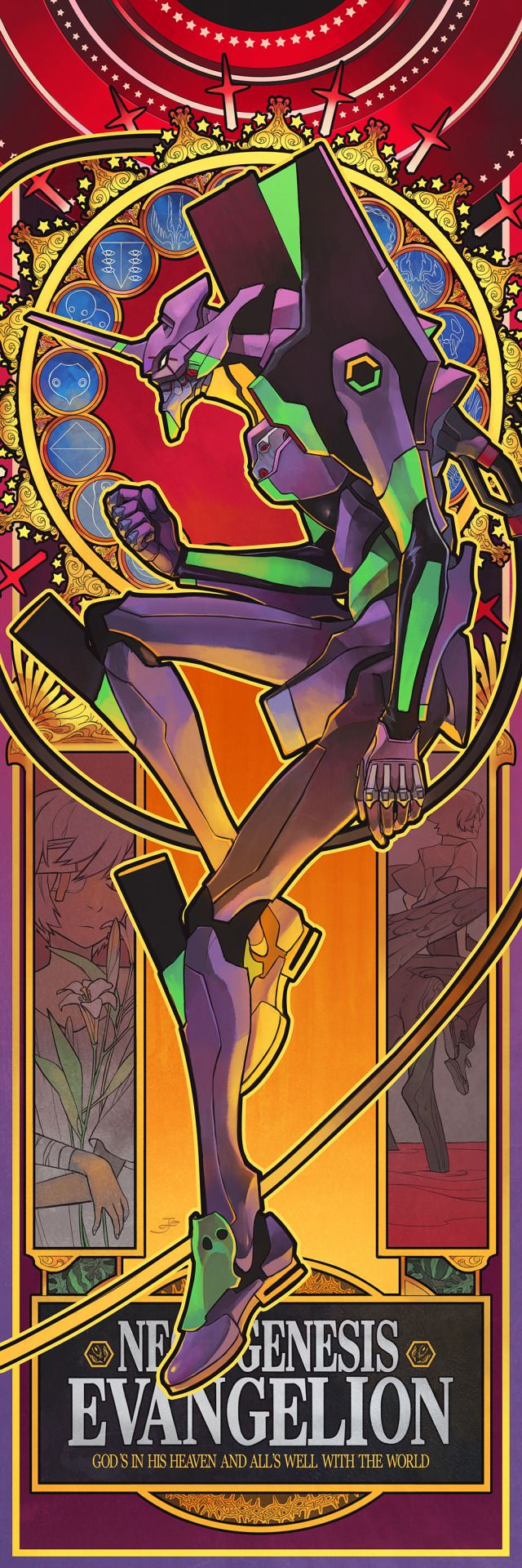 Neon Genesis Evangelion Aesthetic Wallpapers