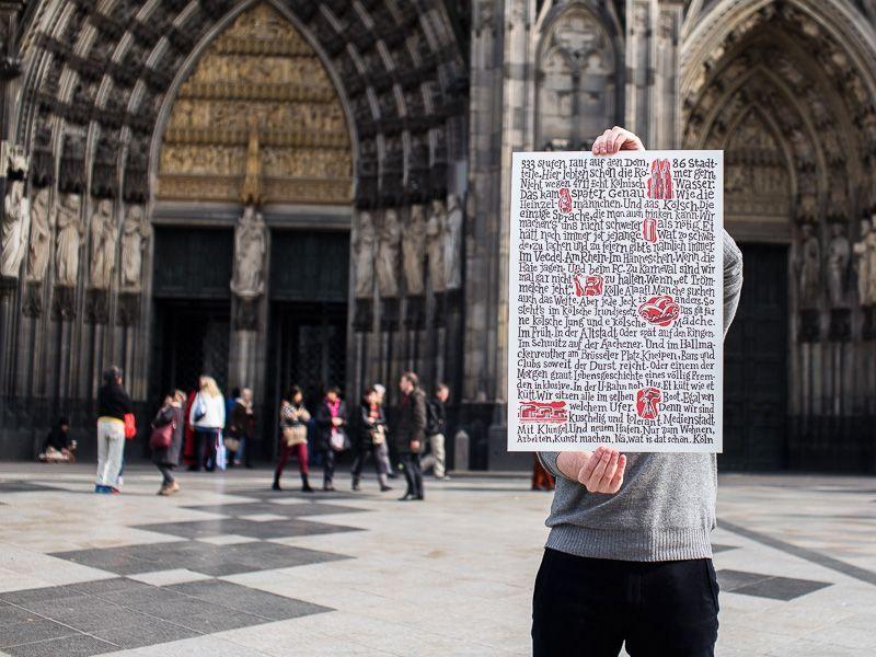 Eine Liebeserklärung an die Domstadt: Das Köln Manifest #Buntes #Stadtgespräch #1_FC_Köln #aufhängen #bestellen