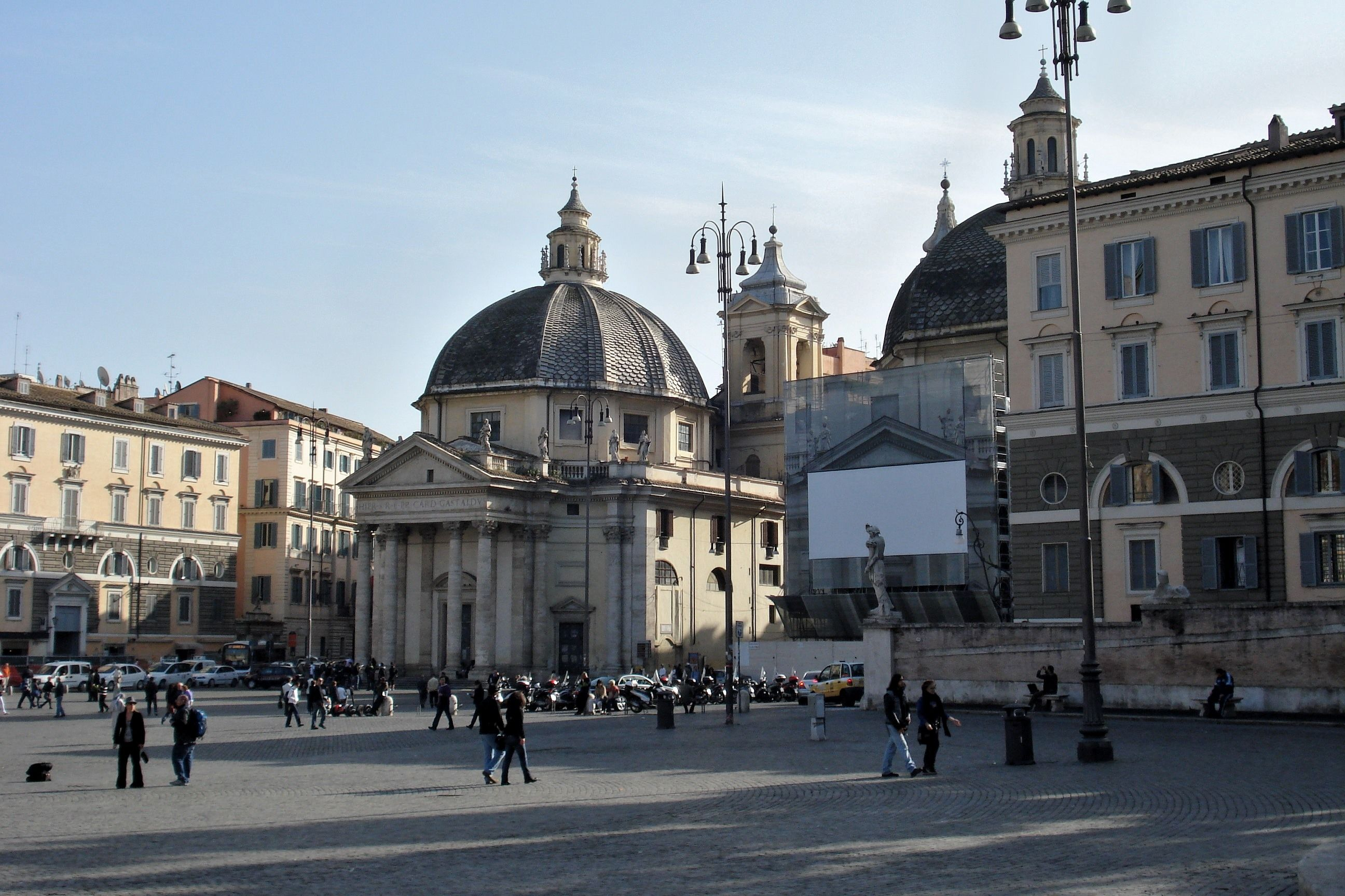 ITALIAN BAROQUE ARCHITECTURE The Twin Church S Maria Di MonteSanto And Dei Miracoli Have Freestanding Pedimented Porticoes Which Deliberately