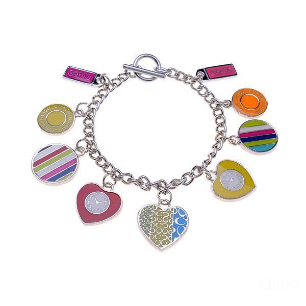 Coach Love Logo Silver Bracelets CWZ
