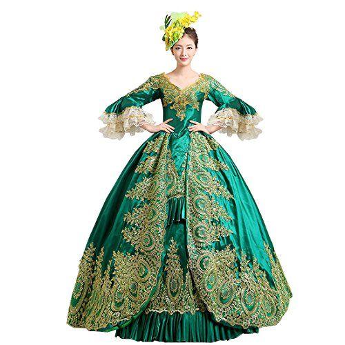 Partiss Damen Gothic Lolita Retro Style Prom Victorian Co... http ...