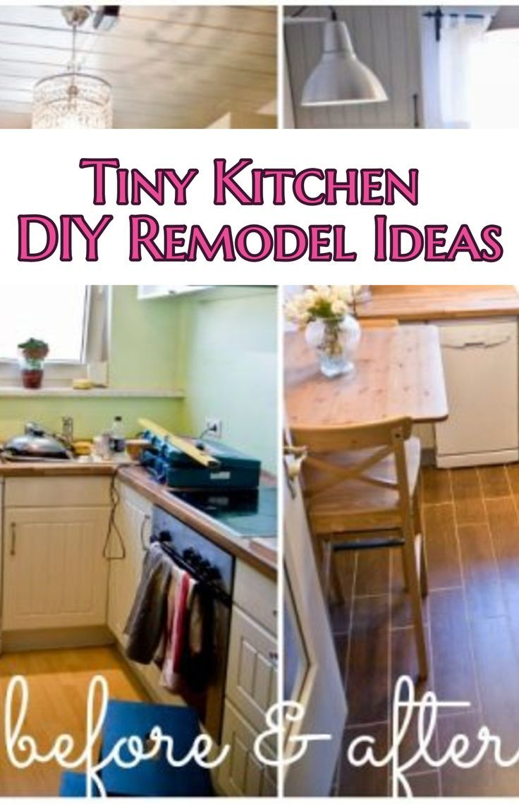 Best Small Kitchen Ideas On A Budget Before After Remodel 400 x 300