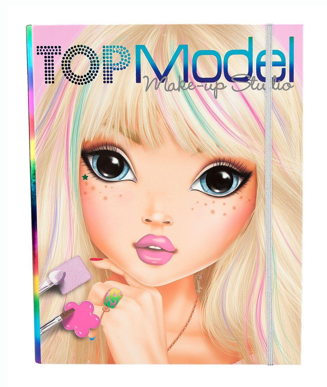 Depesche 6660 Set De Maquillage Topmodel Amazon Fr Jeux Et Jouets Livre De Couleur Top Modeles Maison De Poupee