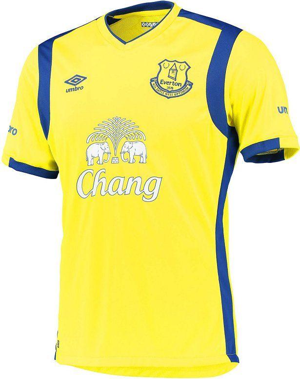 25538c544b Umbro apresenta a terceira camisa do Everton - Show de Camisas ...