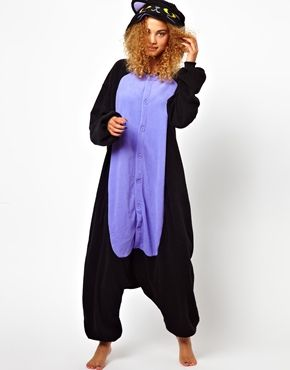 Kigu Midnight Cat Onesie. I found what I want for Christmas! lololol. But really. Buy me this. Please.
