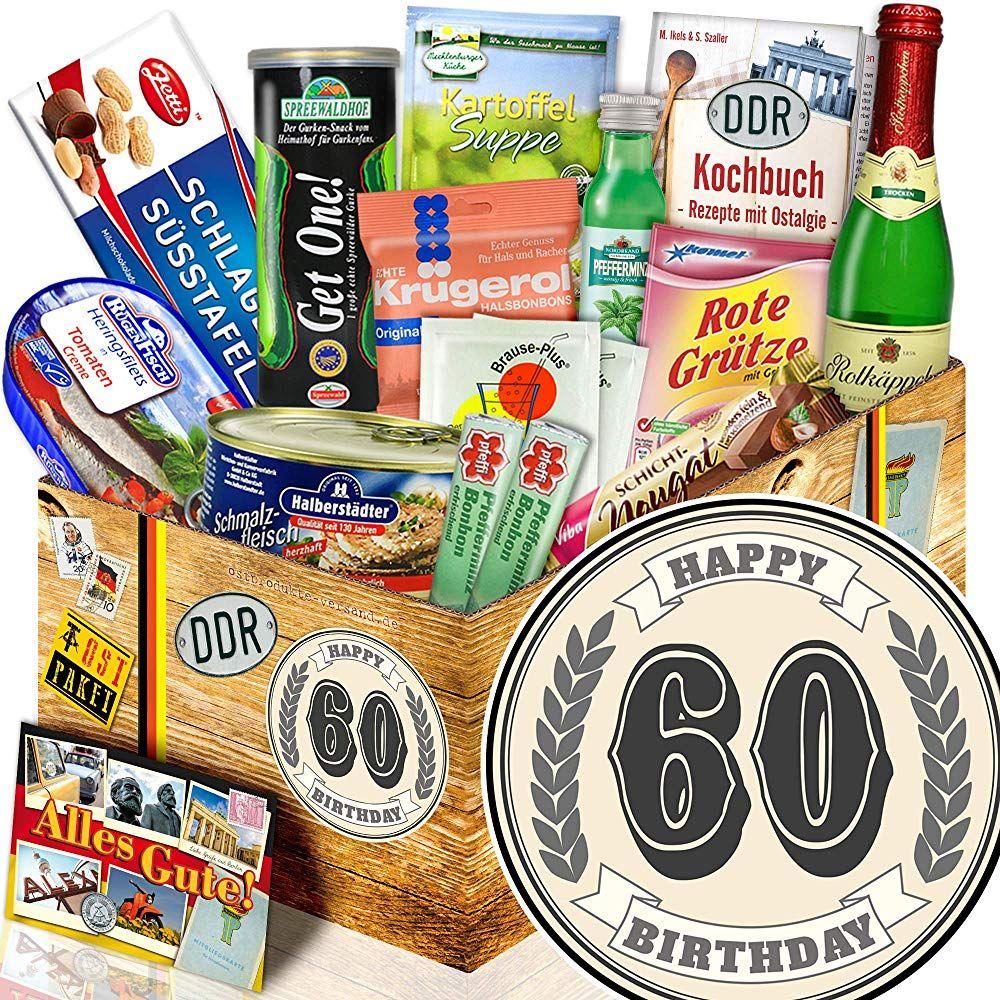 60 Geburtstag Geschenkset Ddr Ddr Spezialitaten Box