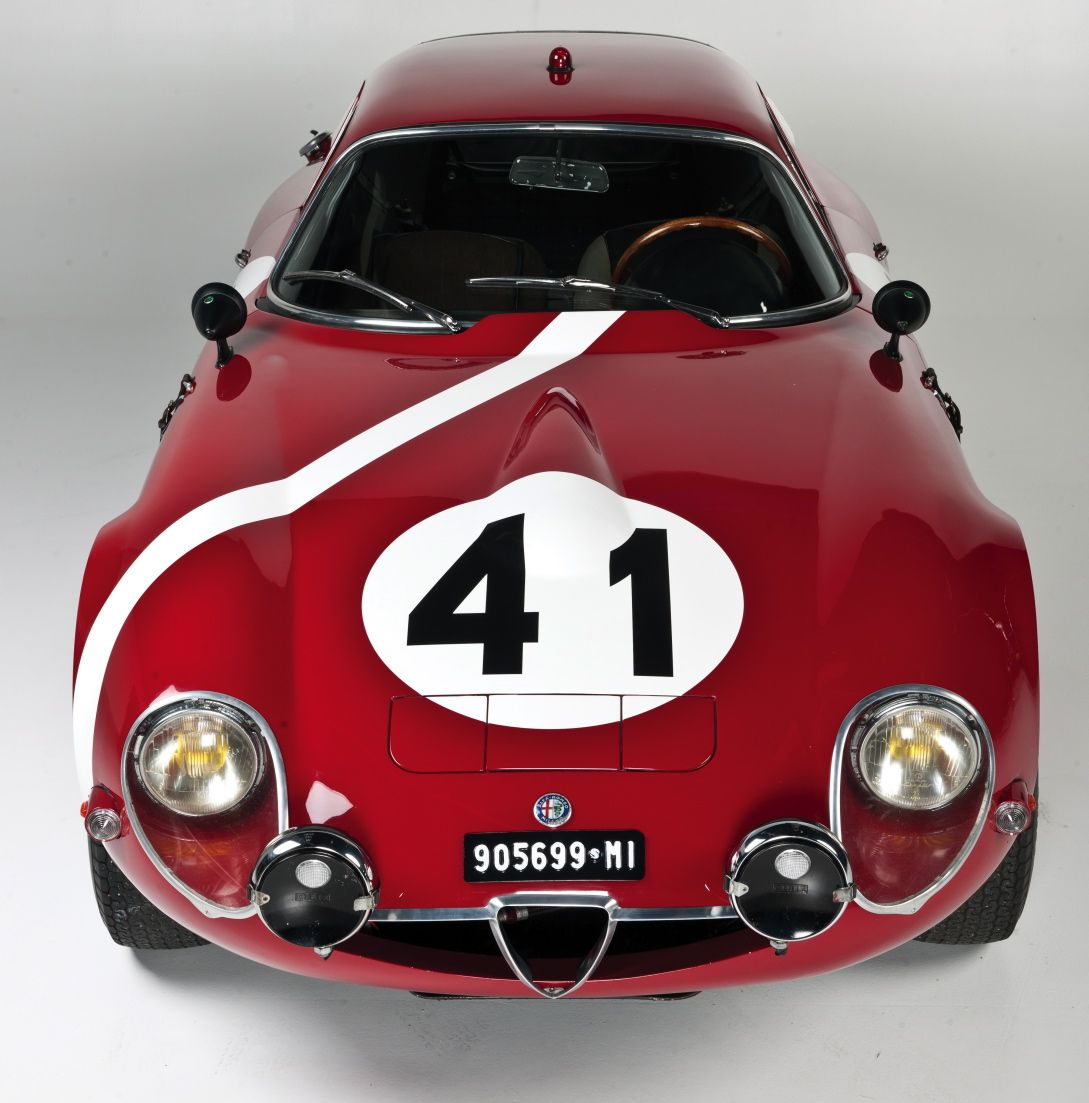 One cool Alfa Romeo TZ2