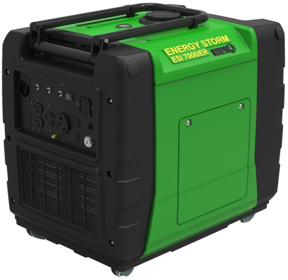 7 000w Gas Powered Digital Inverter Generator With Remote