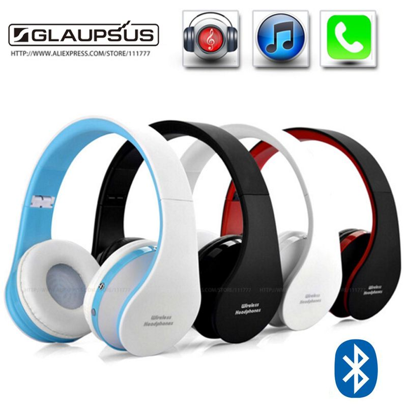 Nx 8252 Stereo Casque Audio Mp3 Bluetooth Headset Wireless Headphones Earphone Head Set Phone For Iphone 6 For Wireless Headphones Bluetooth Headphones Wireless