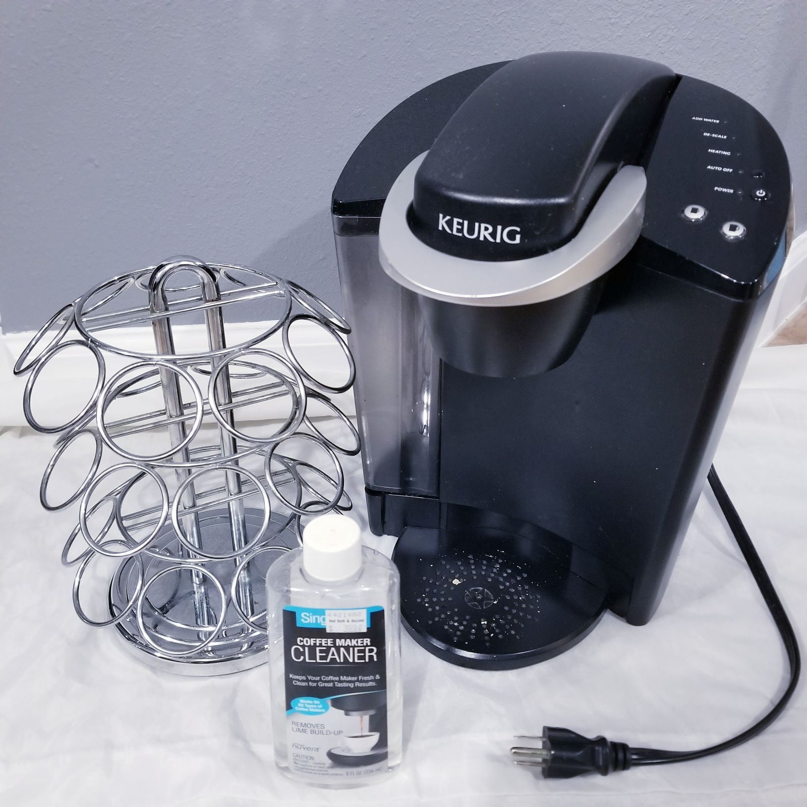 Includes Keurig K40 Elite Brewing System Keurig K Cup