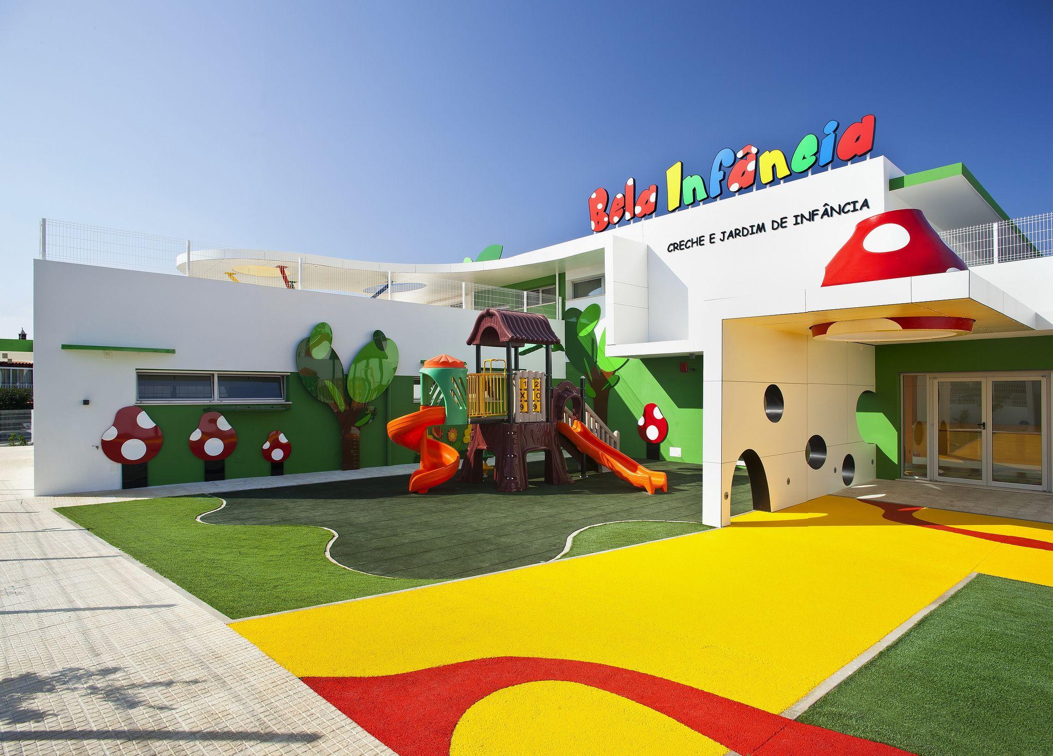 Creche bela infancia building group and originals - Interior design for school buildings ...