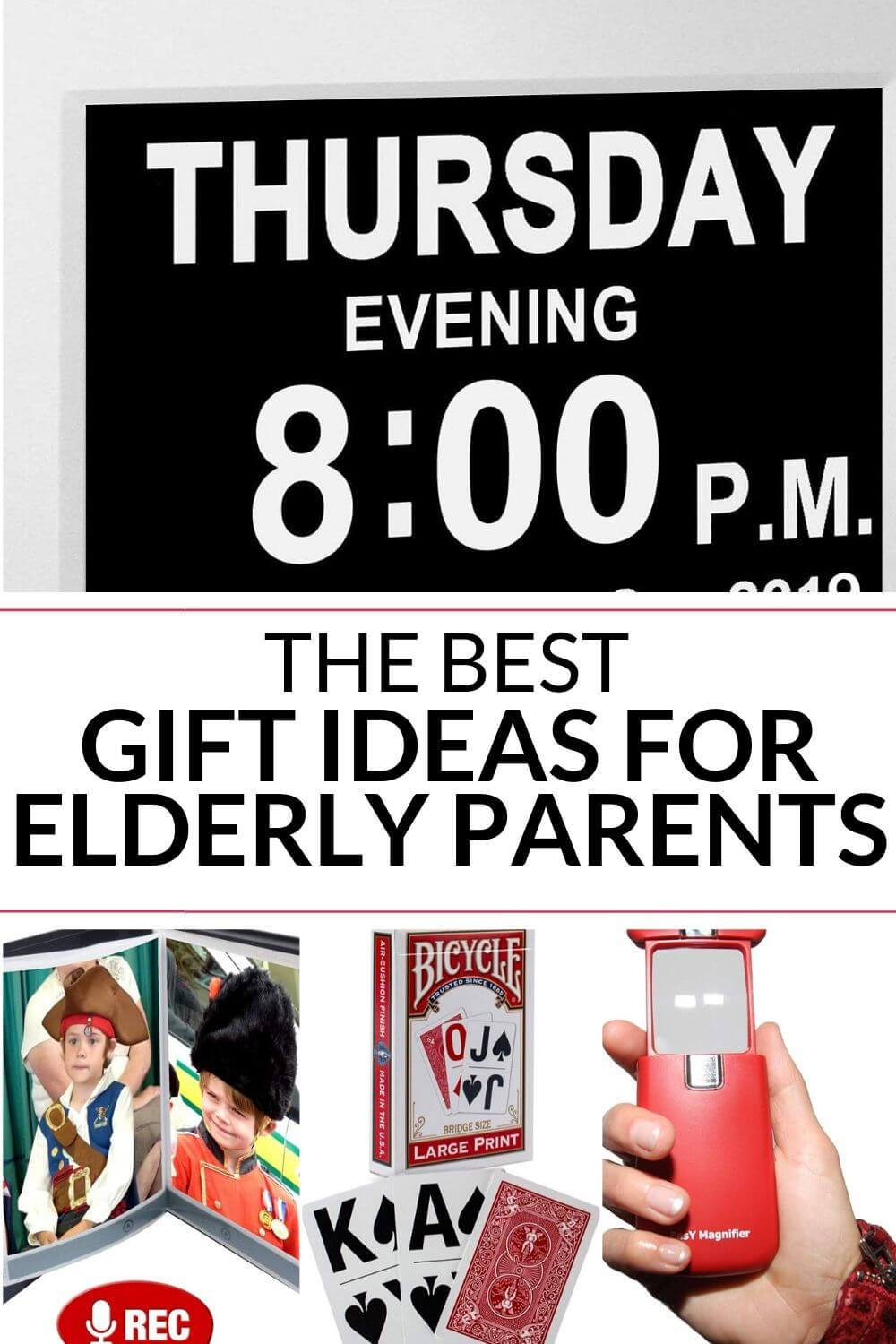 Gifts for elderly parents can be difficult - especially ...