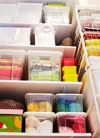 Ordena Tu Casa Con Cajas De Plastico Transparentes Con Imagenes